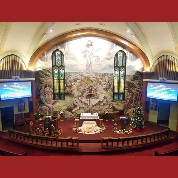Bethany Lutheran Church Video System