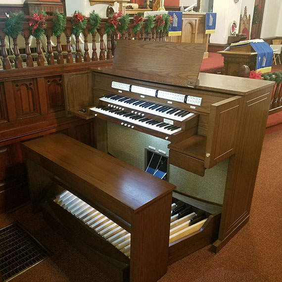 St. Johns Lutheran Organ